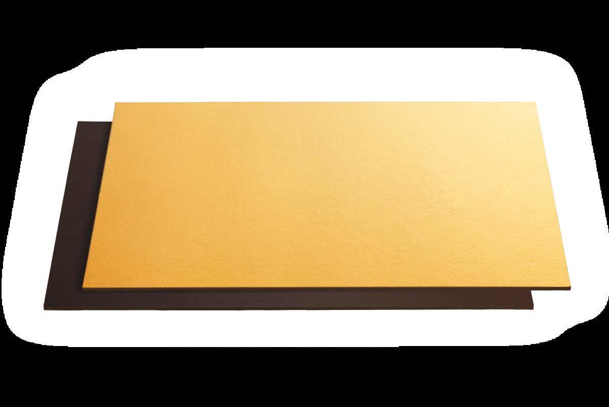 Black&Gold Square And Rectangular Boards - Artigian Carta