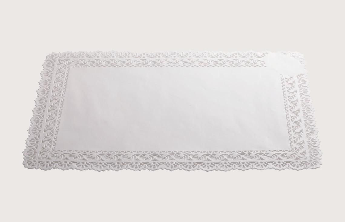 Rectangular paper doilies - Artigian Carta