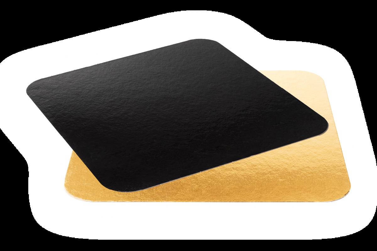 Black&Gold Quadrotto - Artigian Carta