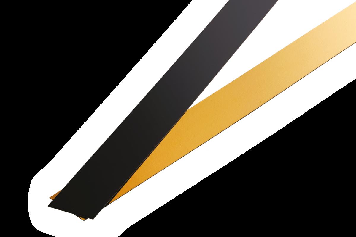 Black&Gold  Strips - Artigian Carta
