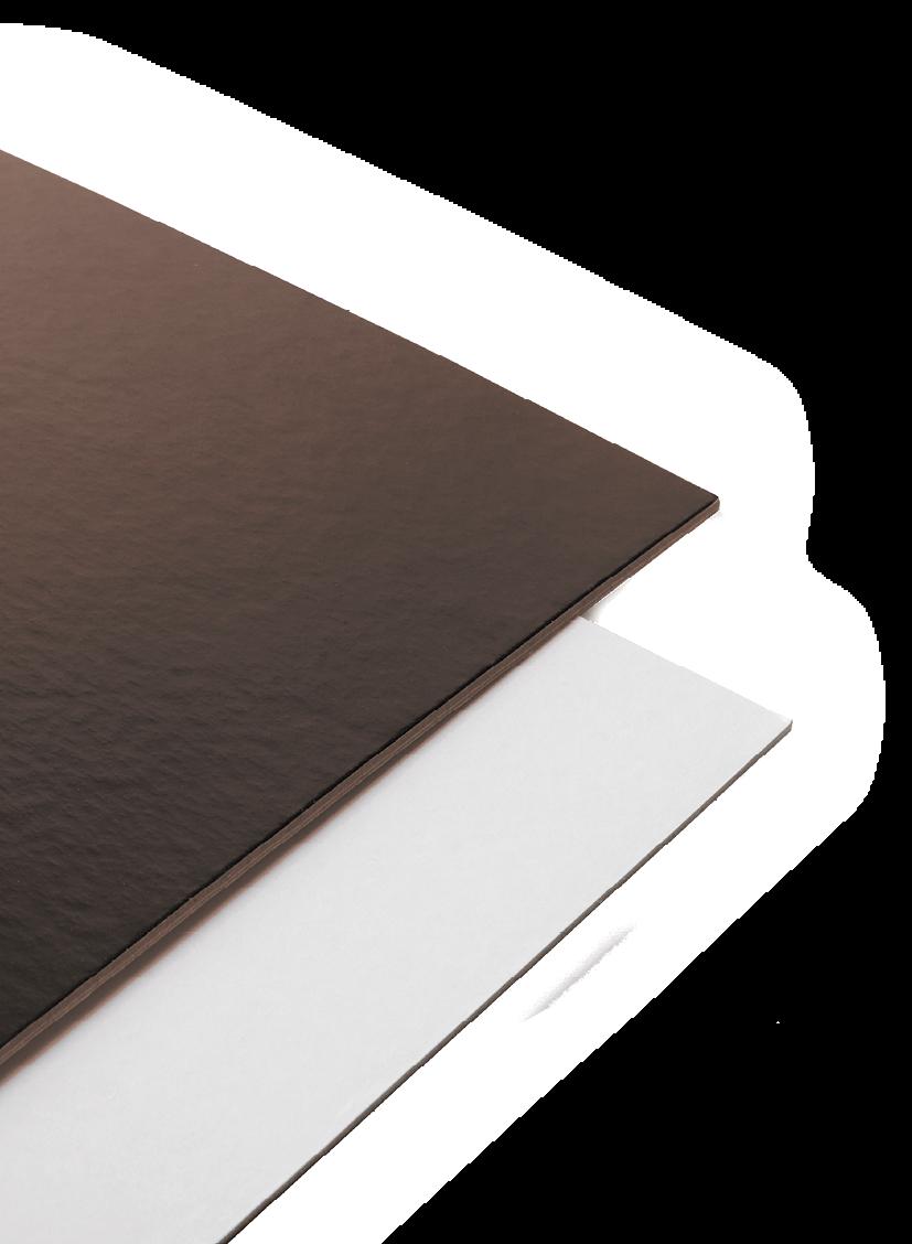 Chocolate & Cream Boards - Artigian Carta