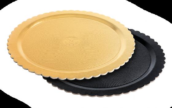 Black & Gold Ala Plate